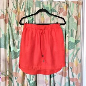 Banana Republic Orange/Red Casual Skirt